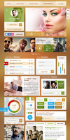 Red Carpet UI Kit by webdesigngeek