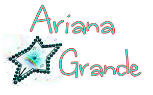 Ariana Grande Png Text by Arin1d18