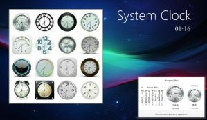 System Clock 01-16 by alexgal23