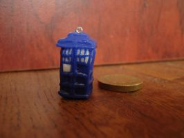 Tardis charm by KittyKat4A4