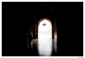 Badshai Mosque by Jupit3r
