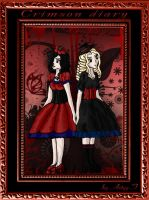 Crimson diary - Mary and Anna by Artyy-Tegra