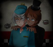 [APH-FNAF] Power's OUT by Jeroine