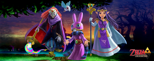 The Legend of Zelda: The Lorulean Counterparts by Legend-tony980