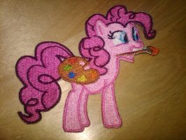 Artist Pinkie Embroidery by EthePony