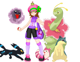OC Pokemon character by kittyshadow