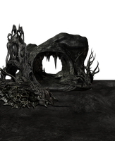 Dark Creepy Cave by mysticmorning