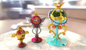 Sailor Moon Holy Grail, Chalice, Stallion Reve 3D by digitalAuge