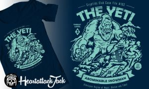 Cryptids Club Case File #102 - the Yeti by Heartattackjack