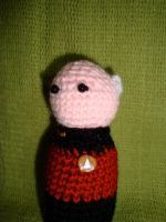 Jean Luc Picard by knerdy-knits