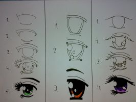 Another How to Draw Eyes by Haizan93