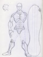 Silver Surfer, redesign by Belabras