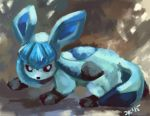 Glaceon by CelestiallKirin