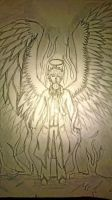 Castiel from Supernatural by treehugger1398