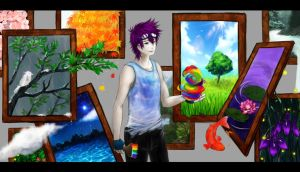 contest entry: mr rainbow by natsume-kyoya
