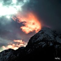 Some red on Aiguillette by rdalpes