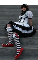 Haruhi Lolita : Red Slippers by Lumis-Mirage