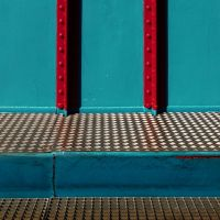 Red Bars 2 by Pierre-Lagarde
