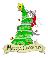 MERRY CHRISTMAS 2013 by Xaos-Wolf