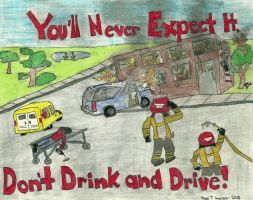 Alcohol Awareness Poster by MiguelMeep
