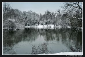 snow on Marne by bracketting94