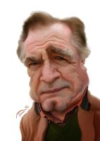 Brian Cox Caricature by StDamos