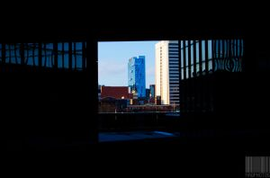 A Sliver Of Detroit by Naqphotos