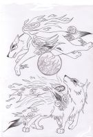 Okami Cover by L-M-S