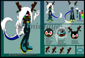 Artemisia Ref Sheet by SonnieJaye