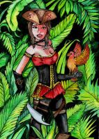 Pirate in the jungle. by ZoZo-20