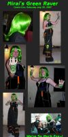 Green Raver by Mirai-Baby-Cosplay