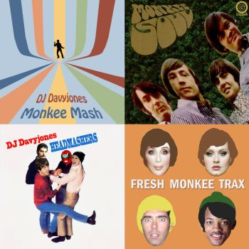 Monkee Mash quadrilogy by DAScottJr