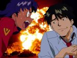 Misato Explosion by Id0ntlikeyou