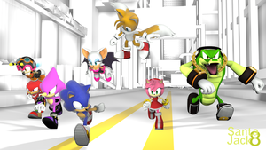 The Hedgehog Alliance by SantaJack8