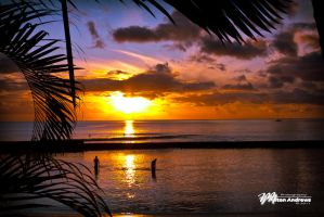 Hawaiian Sunset by Milton-Andrews