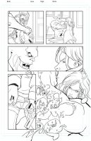 Storm Born Issue 1 pg 4 by davehamann