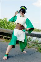Toph Bei Fong by YamiNoSora