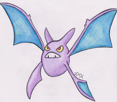 Crobat (REQUEST) by Shabou