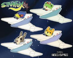 StarFox Stickers! by Laika005