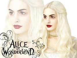 White Queen Wallpaper by Jackolyn