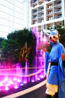 Katsucon 16 2010: Purple Light by SakuWolf