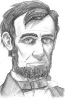 Lincoln in pencil 1 by SethWolfshorndl
