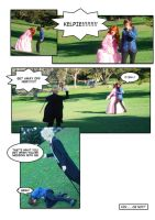 Earl and Fairy cosplay comic by ravient