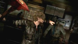 RE6 screenshots by ninaxleon