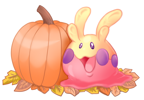 Pumpkin Spice Goomy by AceroTiburon