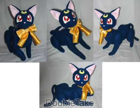 Luna Plushie by WhittyKitty