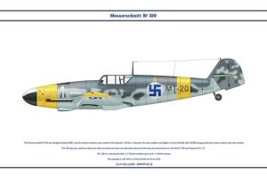 Bf 109 G-2 Finland 1 by WS-Clave