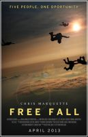 Free Fall - Original Movie Poster [11 in x 17 in] by papatom