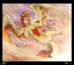 Fly In The Sky by SilverDeni