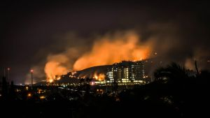 San Marcos Wildfire by Nathan-Ruby